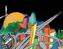 "Ilustraciones ""Smart Cities"""