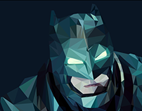 BATMAN - Low poly