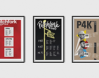 Pitchfork Hip Hop Concept Posters