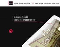 Web design for Victory Design