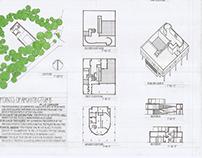 Drawing for the Building Arts: Villa Savoye