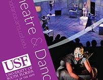 USF School of Theatre & Dance pop-up banner designs