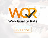 Logo of Web Quality Rate (by Dobrý Web)