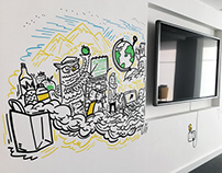 TCC Global Office Mural