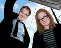 Quentin Tarantino and Sallly Menke - L'Obs