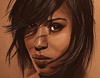 Kerry Washington portrait