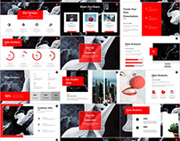 27+ Red Business annual report PowerPoint templates dow