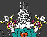 Poseidon - Monguito - illustration