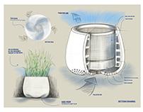 PLANT BASED ORGANIC AIR-PURIFIER