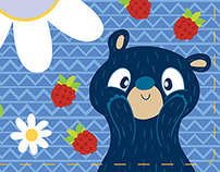 Berry the Bear Quiet Book
