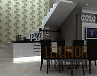 Home Interior by Leilinor Architect