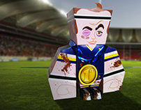 Paper Toy UFRJ Rugby