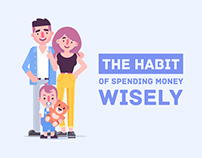 The habit of spending money wisely