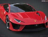 Ferrari ALONSO - Gabriel Hantig Design 2014