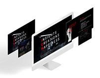 Web designer personal site