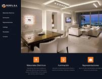 Sitio web de Perfil S.A. de Mendoza, Argentina.
