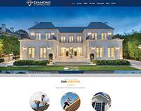 WordPress website for Diamond Contracting LLC