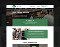 Website Design - The Bug Man, LLC