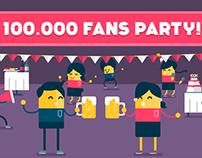 100.000 Facebook Fans - WSE