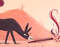the Donkey & the Flute (Augusto Monterroso)