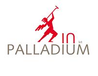 Logo for 10 years anniversary