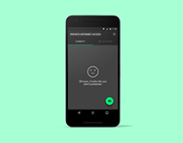 Private Internet Access - Android Redesign