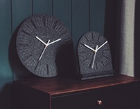 W1 Felt Clock
