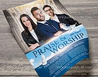 Praise Worship – Flyer PSD Template