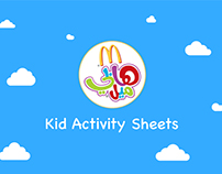 McDonald's Kid Activity Sheets