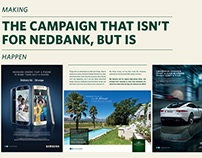 The Campaign that wasn't for Nedbank, but was.