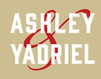 Wedding Invite: Ashley & Yadriel