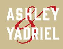 Wedding Invite: Ashley & Yadriel