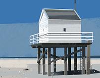 | seaside cabin |