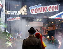 My First Comic Con at a tender age of 31.
