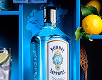 Bombay Sapphire-Shadowboxes