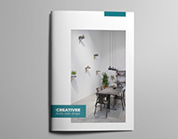 Minimal interior Brochure Template