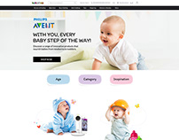 Avent Landing Page