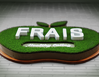 FRAIS Healthy Eating Branding and Layout Design