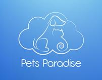 LOGO Pets Paradise - Crematório de animais