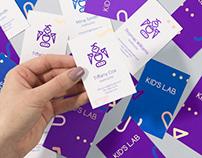 Magic branding for KID'S LAB