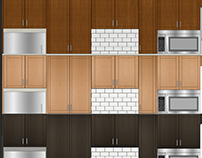 Small Apartment Kitchen with 3 Design Options