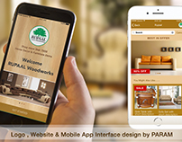 Rupaal Furniture: Mobile App & Web Project Presentation