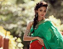 Campaign Shoot for -Aikyatha Sarees