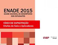 Edição de Vídeo - Treinamento ENADE 2015