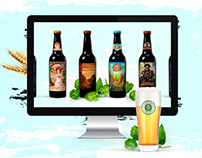 Website for brewery