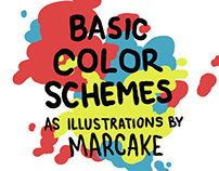 Basic Color Schemes as Illustrations