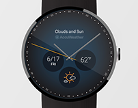 AccuWeather Watch Face for Android Wear