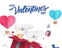 Happy valentines day post
