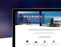 Roca Blanca / Web Design