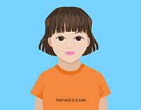 Kids education illustration